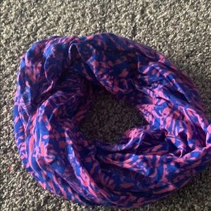 Lily Pulitzer infinity scarf